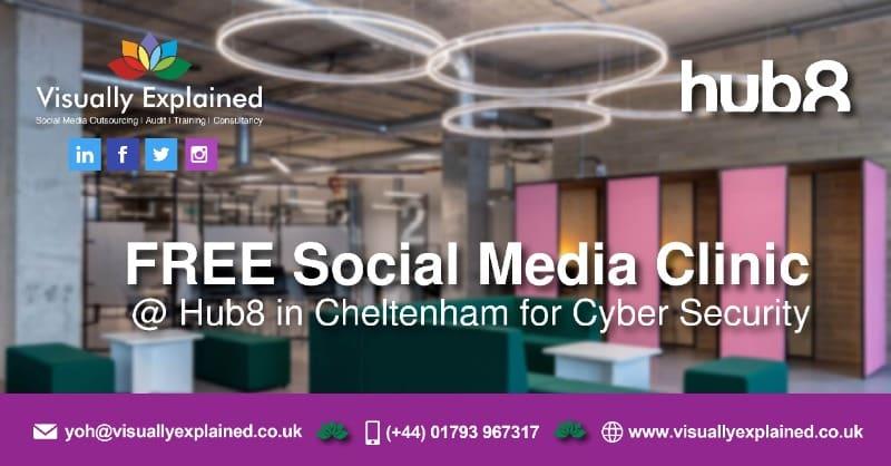 FREE Social Media Clinic – Cyber Security – Cheltenham
