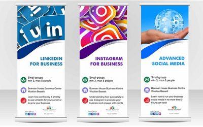 Social Media for Business Bristol poster