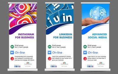 Social Media for Business – on-line