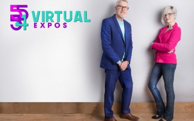 Virtual Expo photo with Yola O'Hara and David Lattimer