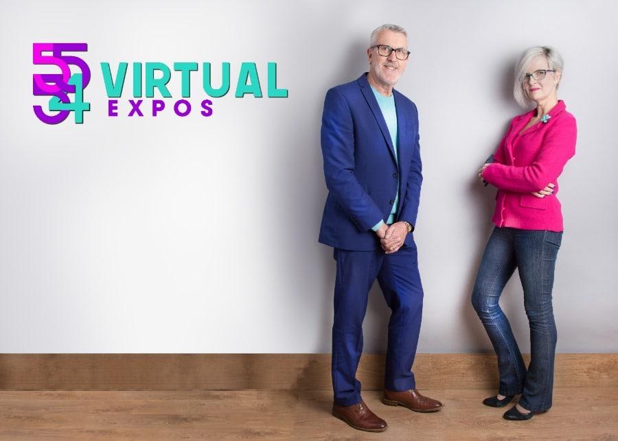 Virtual Expo photo with Yola O'Hara and David Lattimer